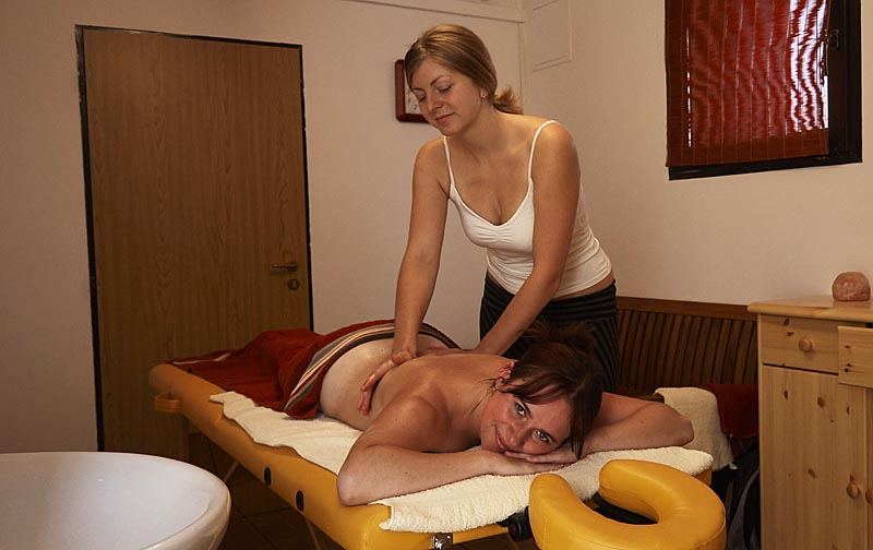 Massage direct op de camping